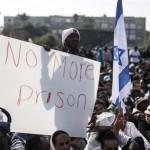 يهود الفلاشا في اسرائيل يحتجون على اوضاعهم المزرية