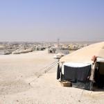 مخيم الزعتري لللاجئين السوريين بالأردن