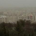 عاصفة غبار-عمان-بشار طافش