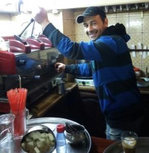 عامل مقهى بتونس