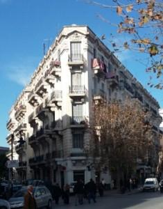 مبنى بتونس العاصمة من عهد الإستعمار الفرنسي-بشار طافش