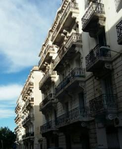 مقطع جانبي لمباني أثرية بمنطقة باساج-تونس العاصمة-بشار طافش