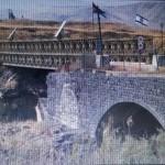 جسر الملك حسين فوق نهر الأردن